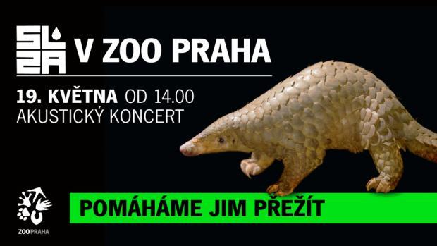 Skupina Slza svým koncertem podpoří in-situ projekty Zoo Praha známé pod souhrnným označením Pomáháme jim přežít.