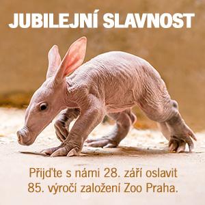 Přijďte s námi 28. září oslavit 85. výročí založení Zoo Praha.