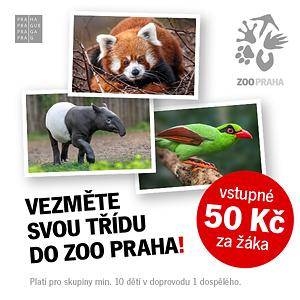 Vezměte svou třídu do Zoo Praha
